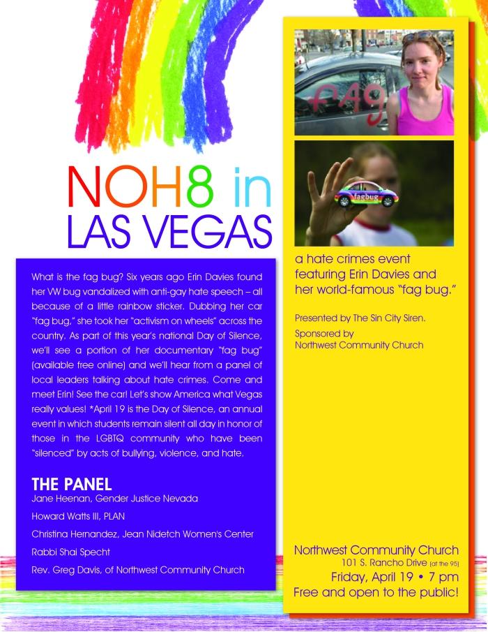 NOH8 in Las Vegas_fagbug