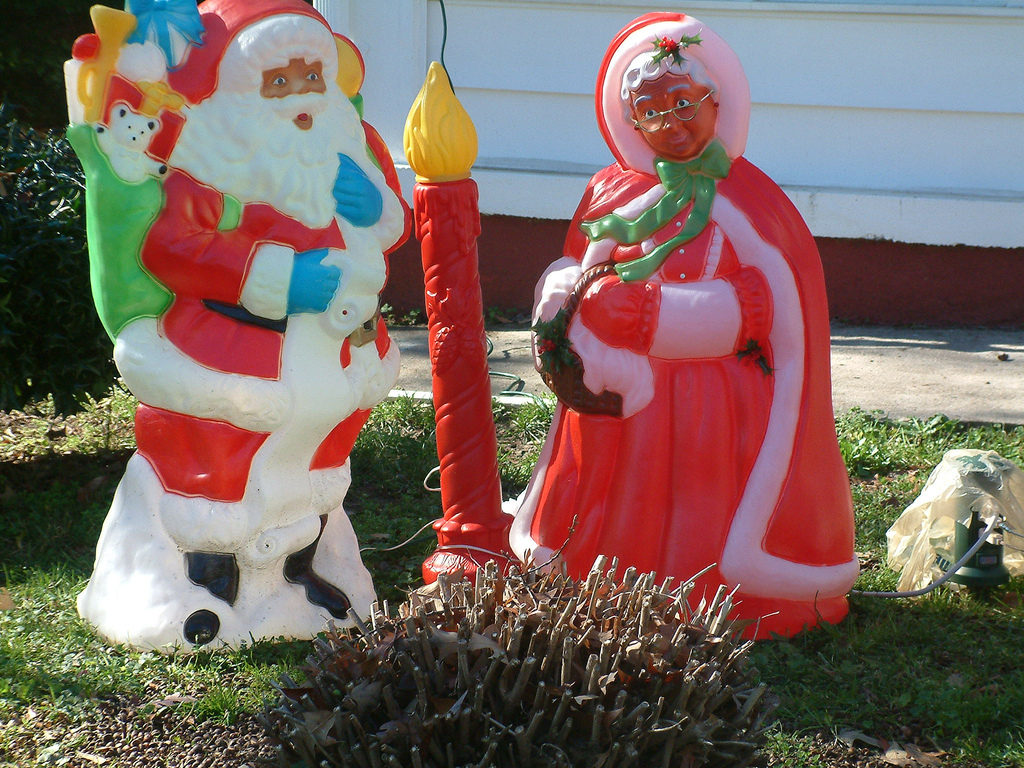 The black santa controversy fills me with rage ahol